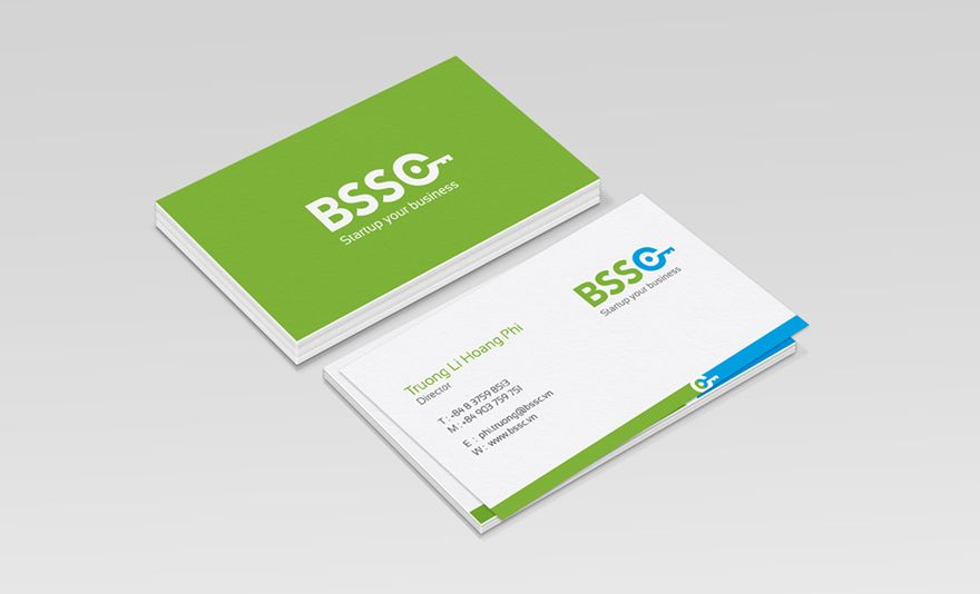 corporate business card design Business Card