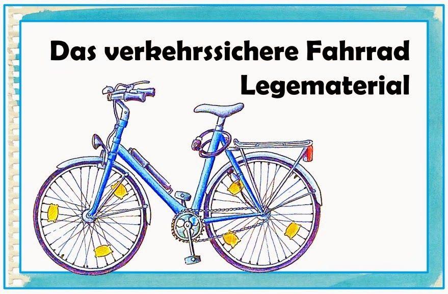 Unterrichtsstunde: Das verkehrssichere Fahrrad (German Edition)
