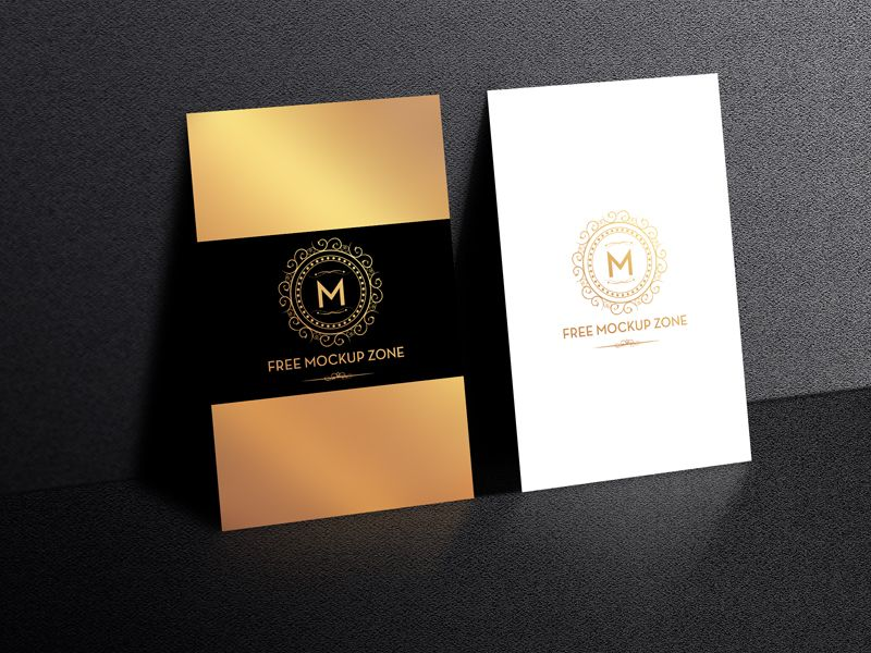 Free-Standing-Display-Business-Card-Mockup-Preview | Mockup ...