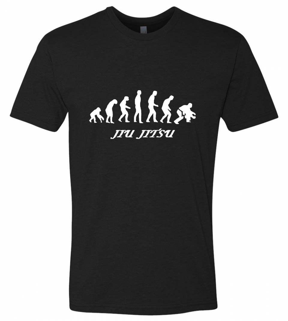 Darwin's Theory Jiu Jitsu T-Shirt - Black / S