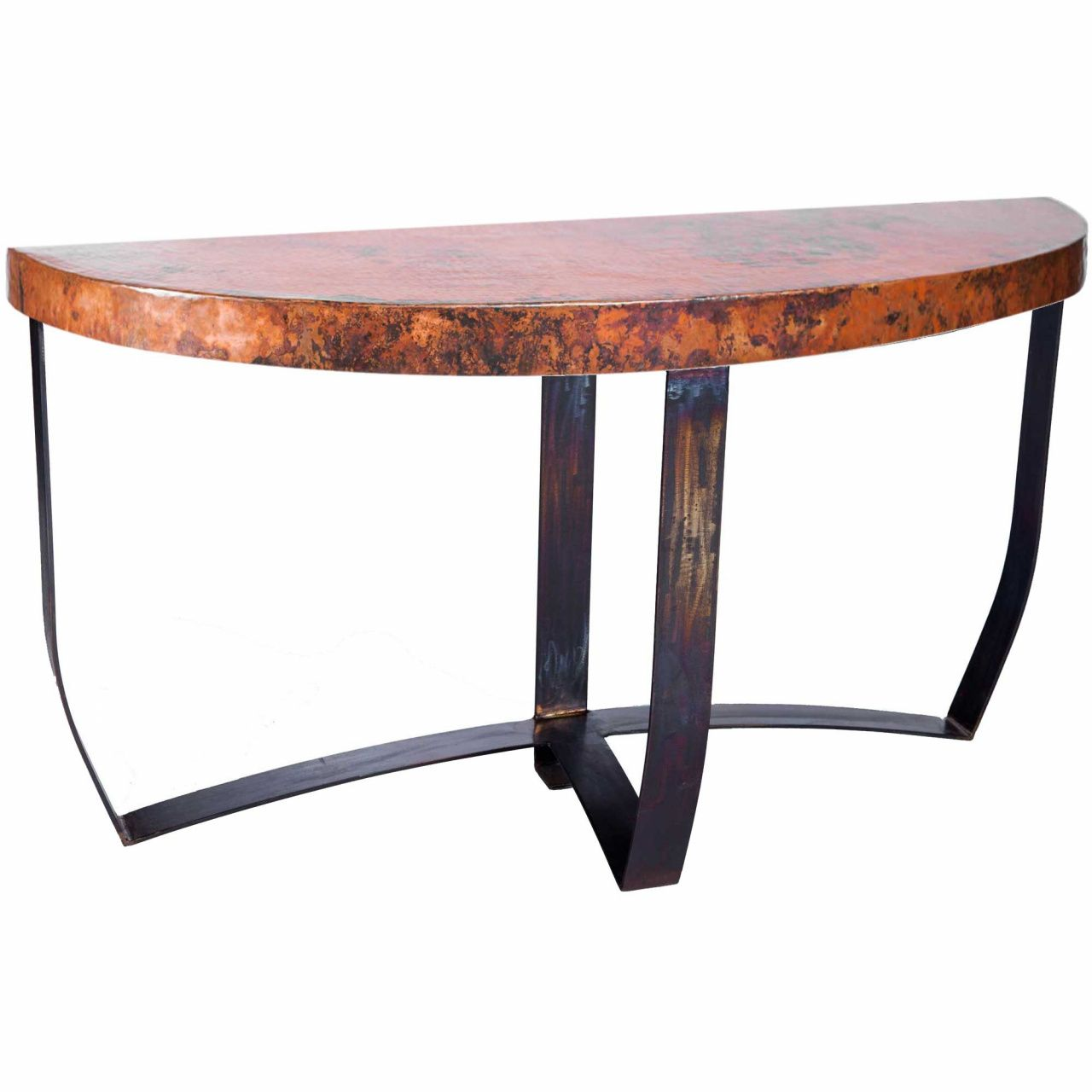 Copper Top Sofa Table Large Home