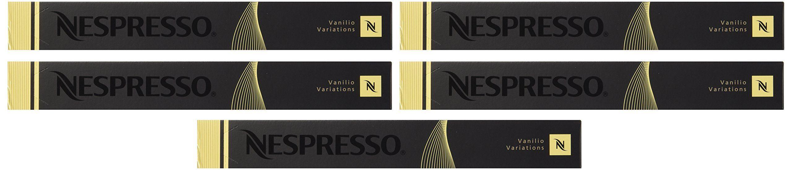 Nespresso OriginalLine Vanilio 50 Count NOT compatible