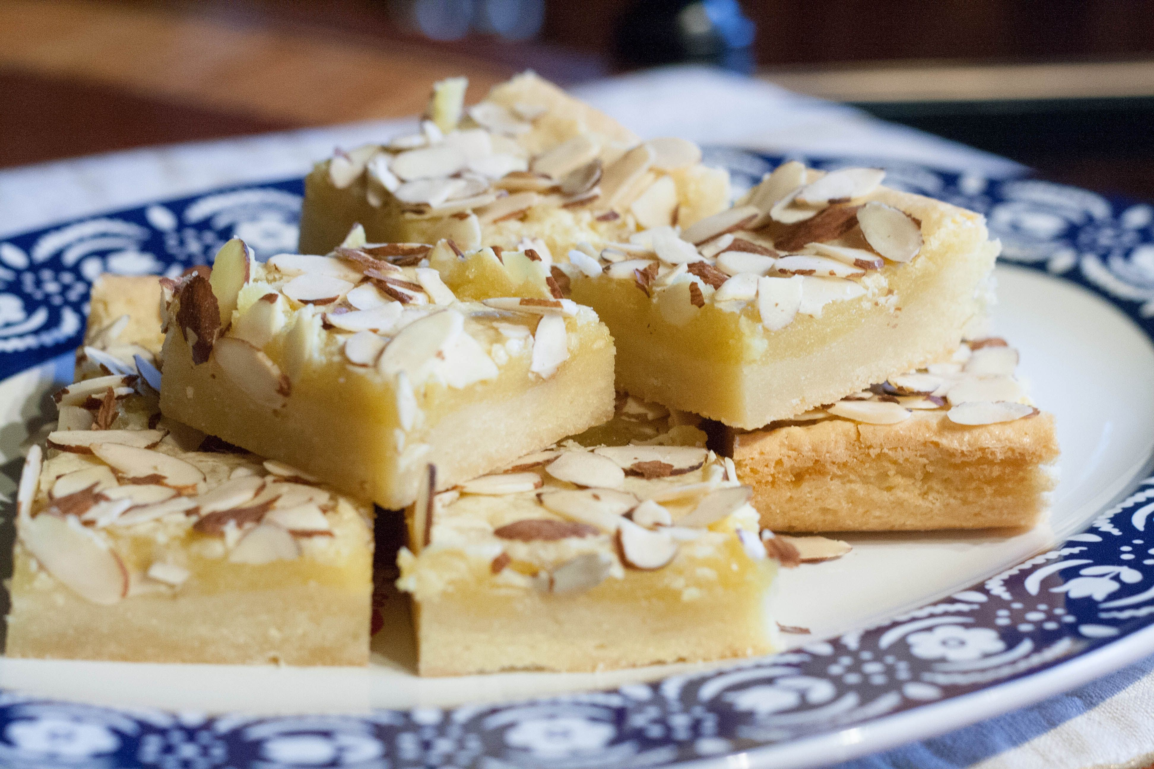 Norwegian Almond Bars Recipe Scandinavian Desserts Almond Recipes Norwegian Food