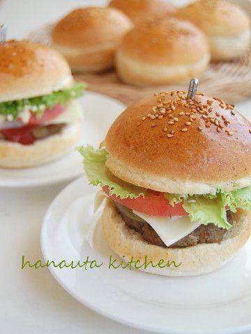レシピ ハンバーガー