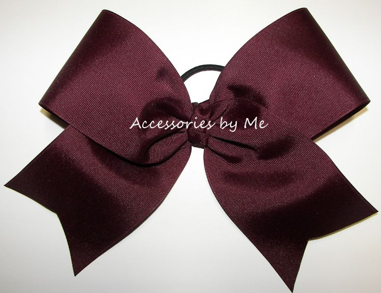 Big #Cheer #Bow - Customizeable Color Choice - by accessoriesbyme