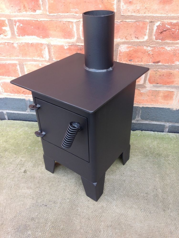 narrowboat stove / bell tent stove / small wood burner / log burner / vw c&er & Narrowboat stove / bell tent stove / small wood burner / log burner ...
