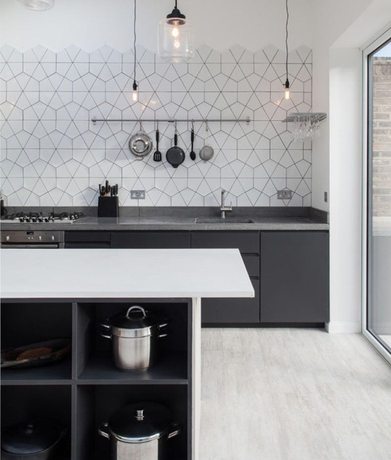 14 Cozinhas Apaixonantes Com Azulejos Geométricos A P T H
