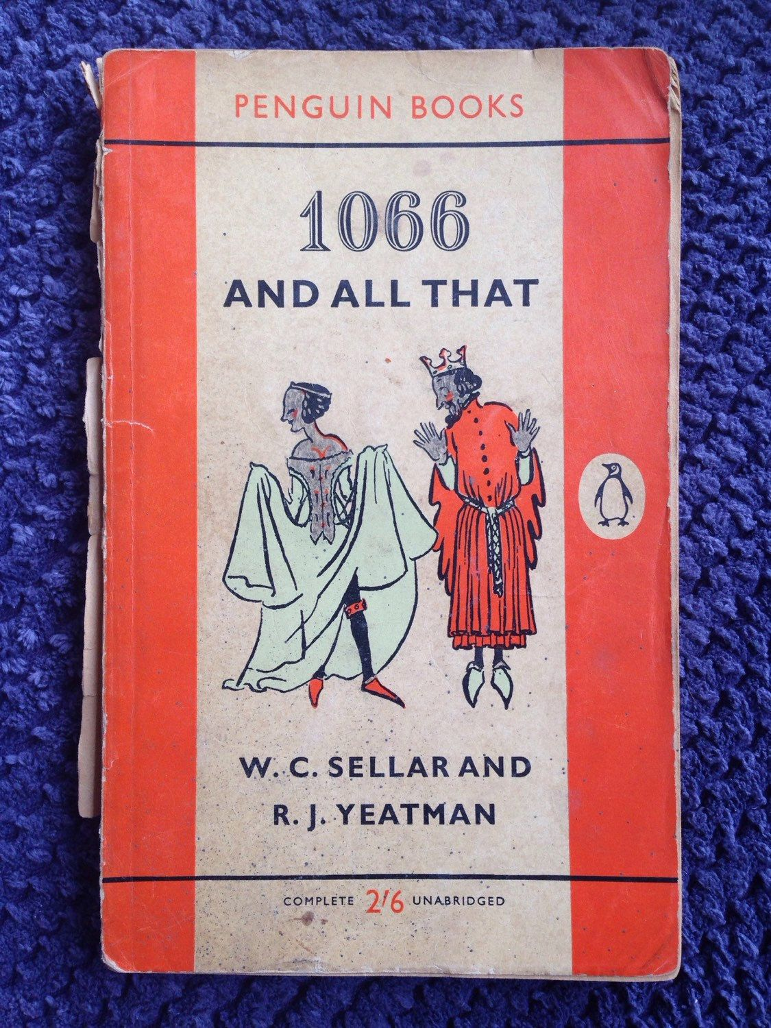 Vintage Penguin Book Covers : Vintage penguin book and all that by w c sellar