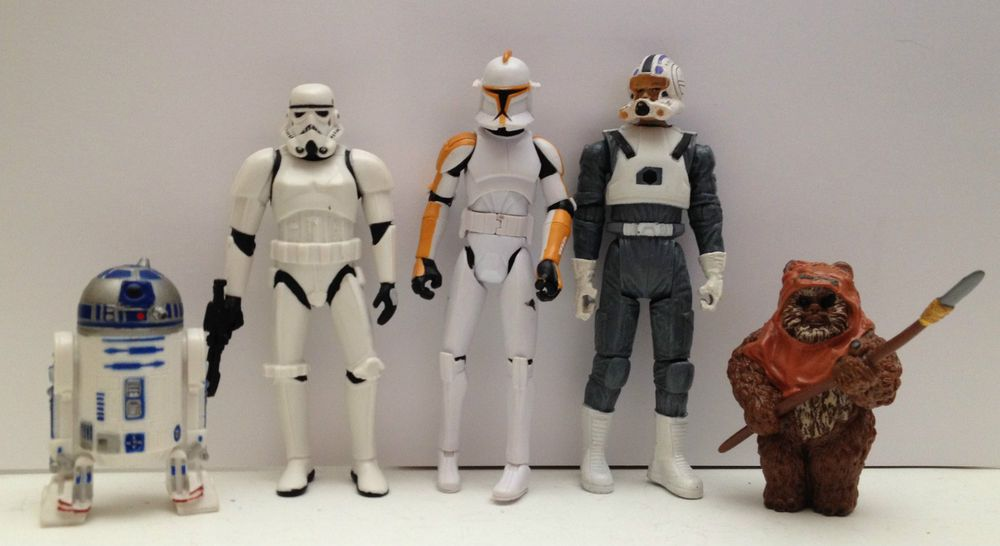 Star Wars Movie Action Figure Characters Mixed Lot Christmas Gift #HasbroLucasFilms