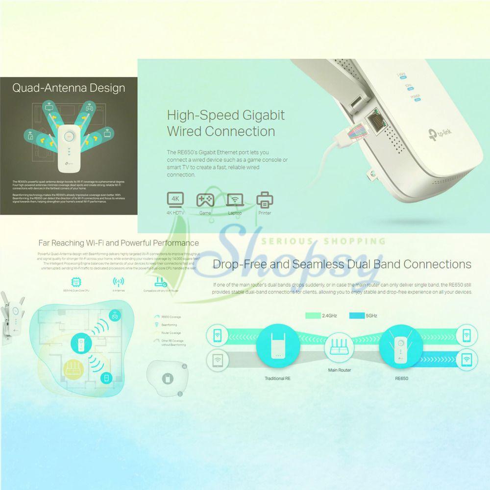 eBay #Sponsored TP-Link | AC2600 Wifi Extender | Up to