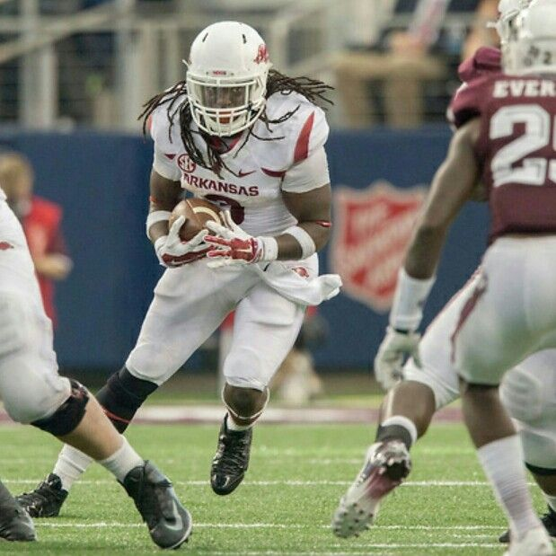 Arkansas Runningback, Alex Collins.