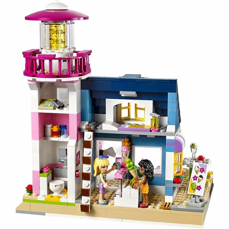 Lighthouse Home Building Set (478 Pieces): Price: $34.99 & FREE ...