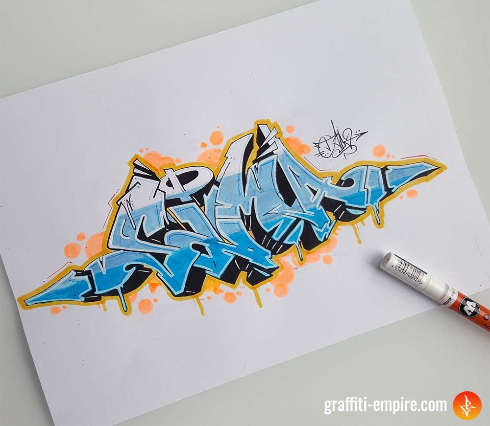 "graffiti sketch ""sima""  graffiti empire  graffiti"