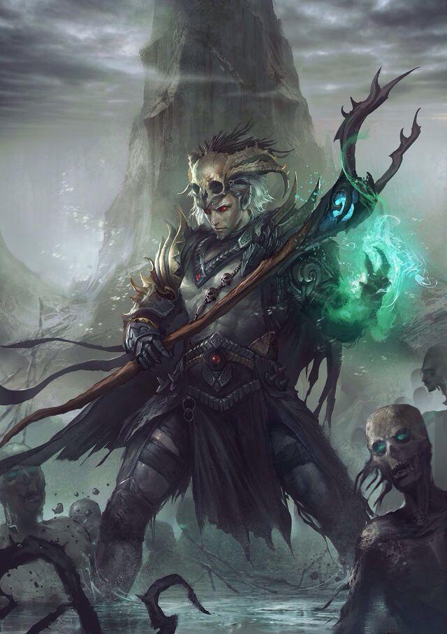 Fantasy Art Fantasy Art Necromancer