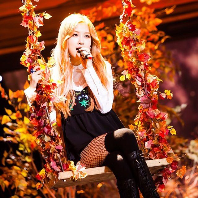 [161106] 'STAY' #BLACKPINK Rose at SBS Inkigayo - PD Note