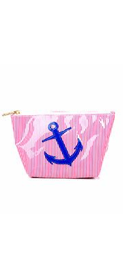 Red & White Stripe Navy Anchor Avery Case