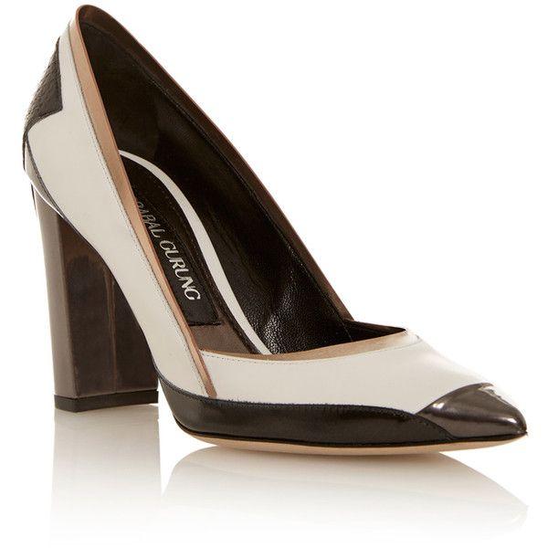 PRABAL GURUNG Leather Heels f5dEaYpRAb