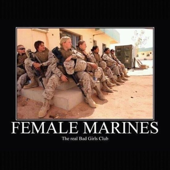 Men Are Not The Only Ones Joining The Marines Army Or The Air