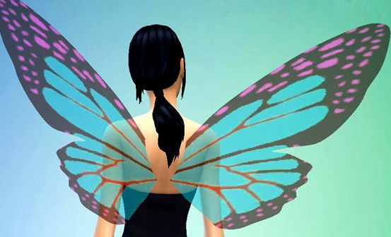 Mod The Sims - Glass Wings - All Ages