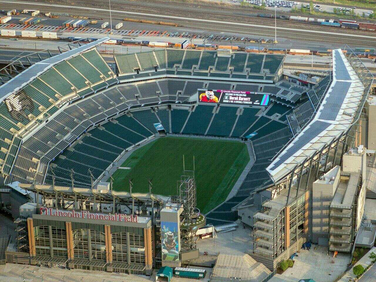 Lincoln Financial Field Philadelphia Pa Sports Stadium Sports Arena Major League Baseball Stadiums