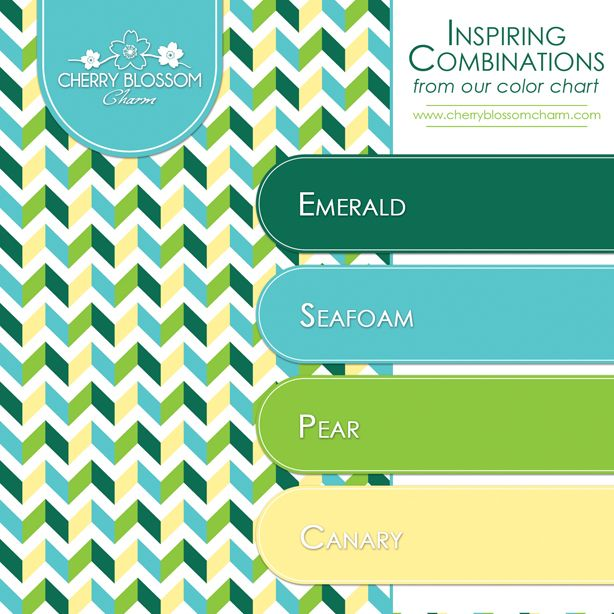 Color combinations emerald green seafoam turquoise blue for Blue and yellow paint combinations