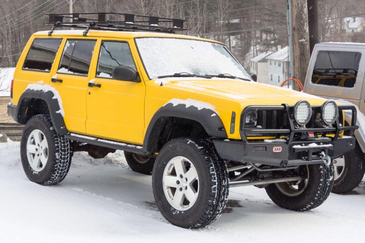 Jeep Yellow 2001 Jeep Cherokee Jeep Xj Cherokee Sport