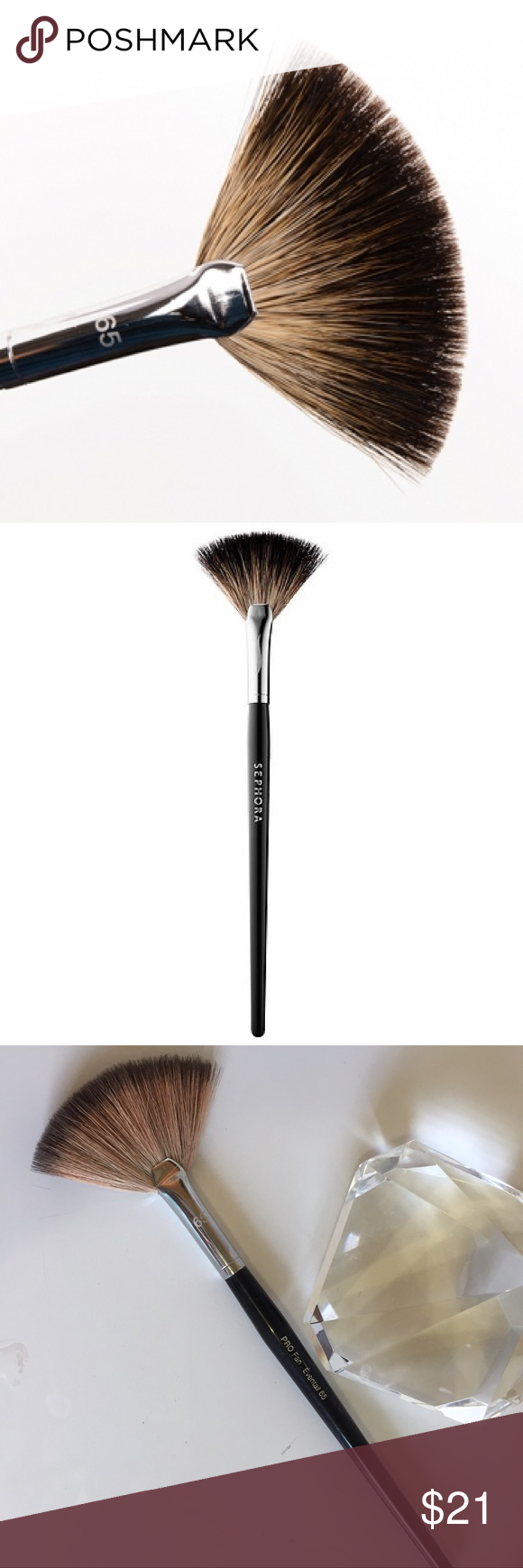 Sephora PRO Fan Highlight Brush 65 (With images