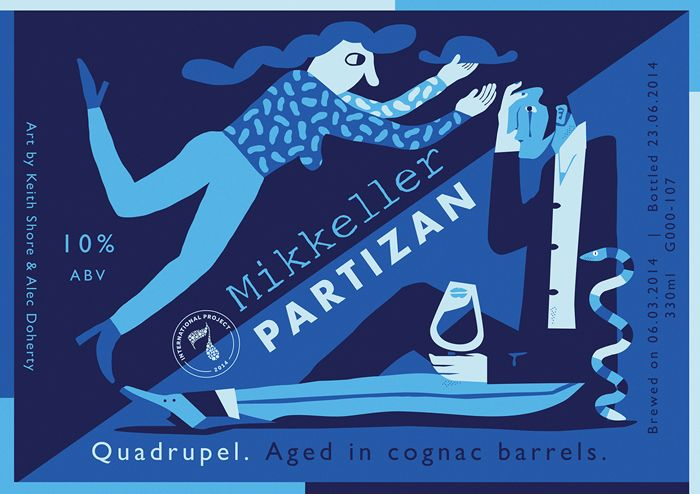 Collaboration with Keith Shore from Mikkeller, for Siren Brewerys Rainbow project