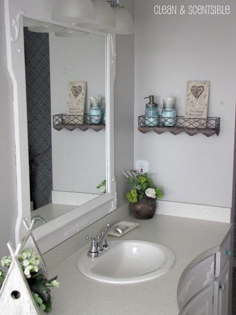 Master Bathroom Part 2 Master Bathroom Diy Bathroom Decor Budget Bathroom