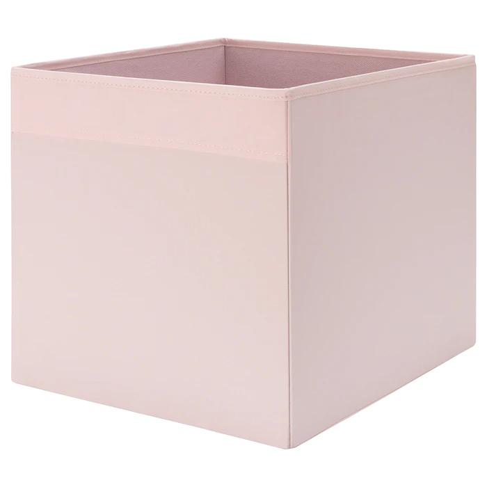 DRÖNA Rangement tissu - rose clair 33x38x33 cm en 2020   Rangement tissu, Rangement tissu ikea ...