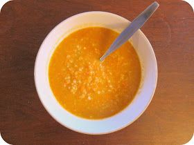 Quaintrelle: Vegan Carrot and Rice Soup - Perfect for Cold Days