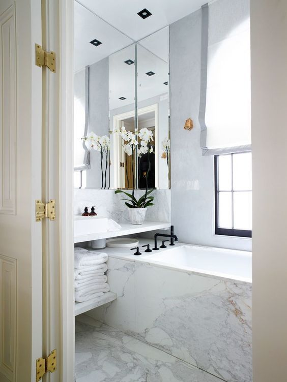 23 glam bathroom decor ideas to swoon over with images