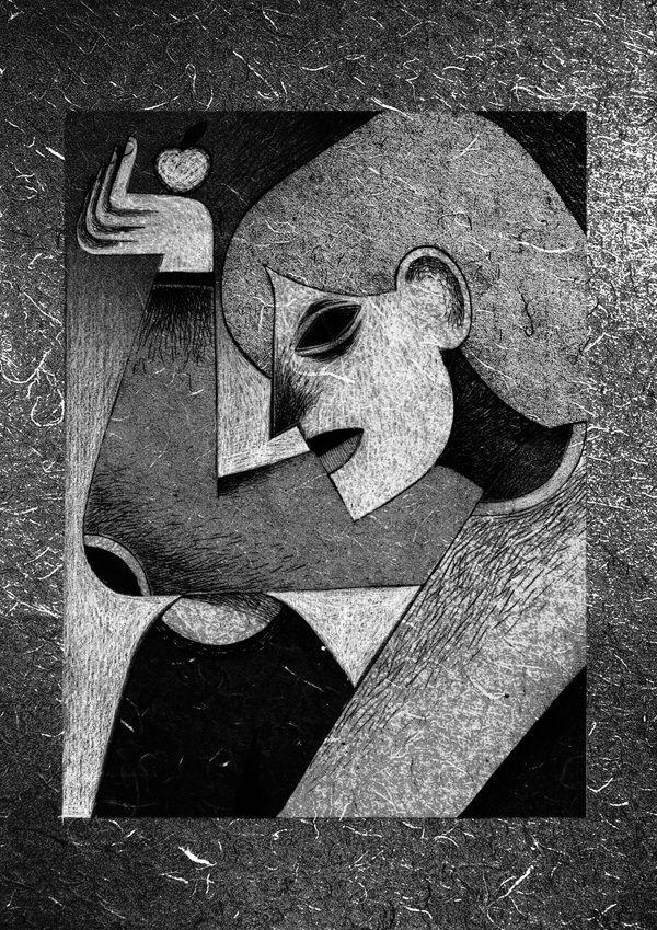 Noir et Blanc by Lili des Bellons, via Behance