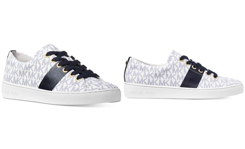 0c02e81e8433 MICHAEL Michael Kors Keaton Lace-Up Sneakers - Sneakers - Shoes - Macy s