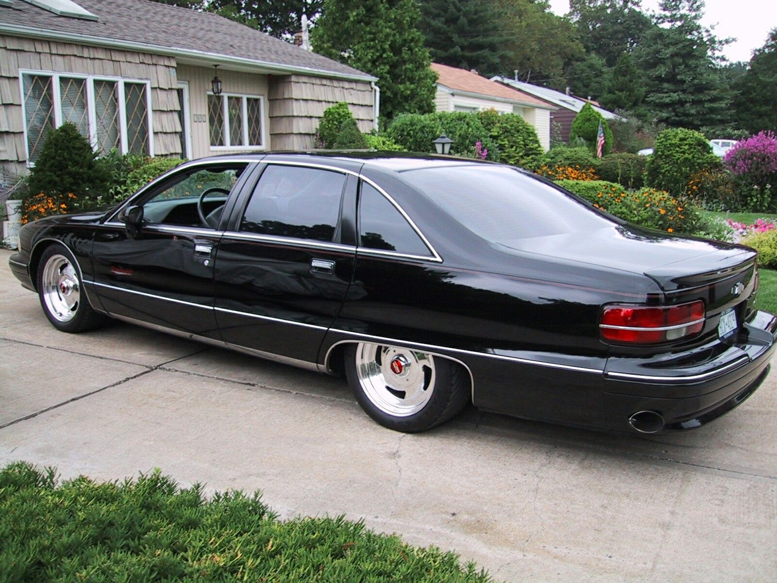 1991 Chevy Caprice Classic On Custom Wheels Classic