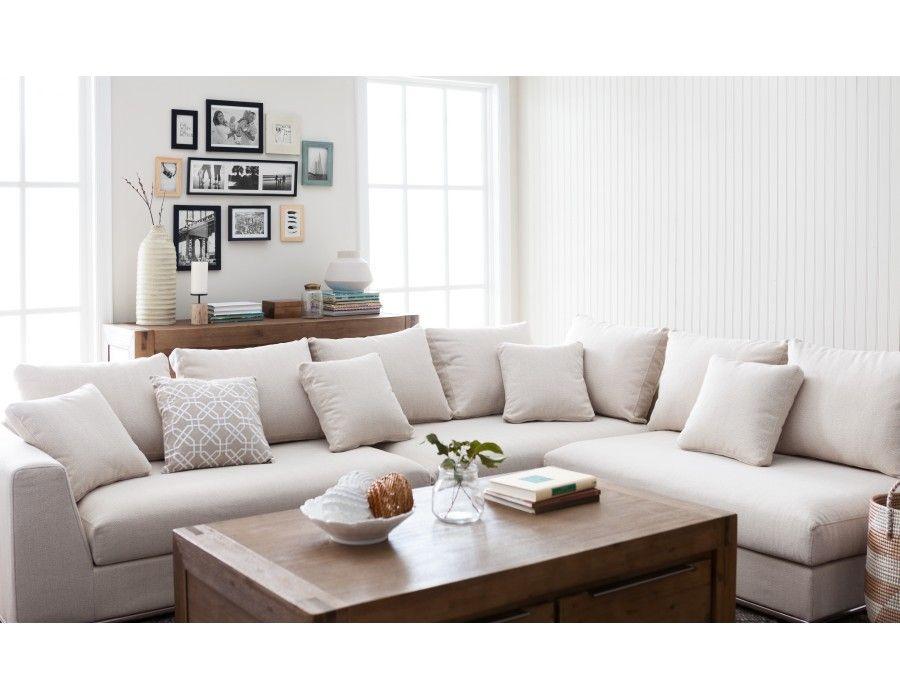 Horizon Modular Sectional Sofa Beige Modular Sectional Sofa