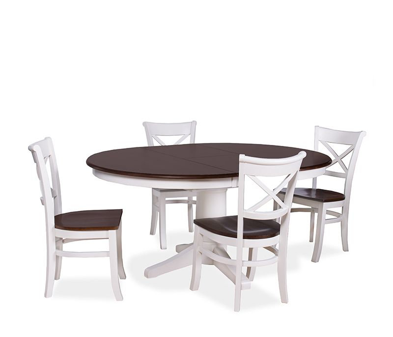 The Brentwood Dining Set Constructed Of Kilndried Parawood Classy Espresso Dining Room Table Sets Review