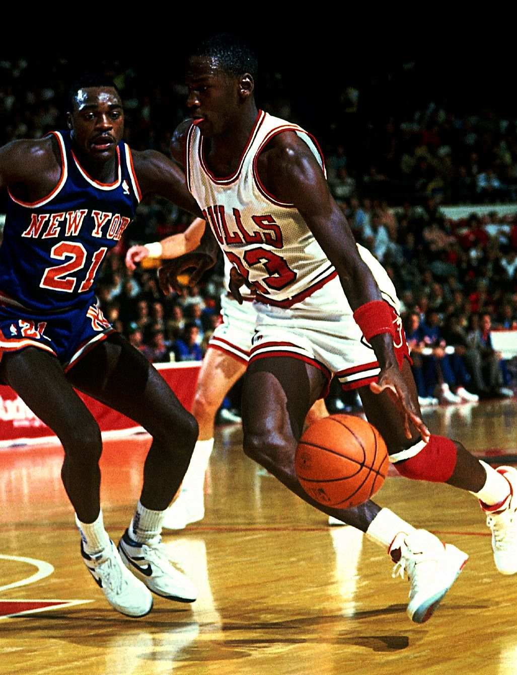 Gerald Wilkins & Michael Jordan Beast Pinterest
