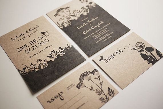 Also love this - Nature Wedding Invite Printable