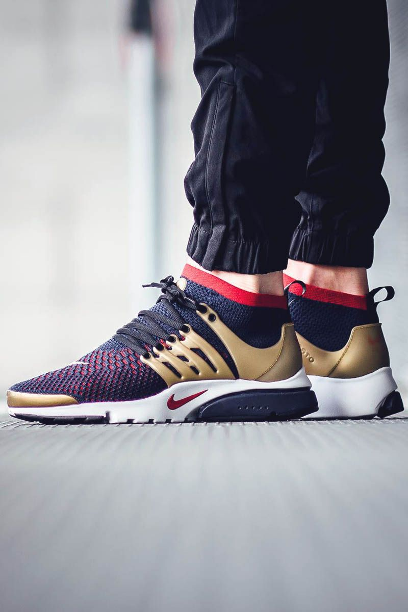 new arrivals 0022d f2583 With metallic gold armor in its defense, Nike s Air Presto Flyknit Ultra is  fit for