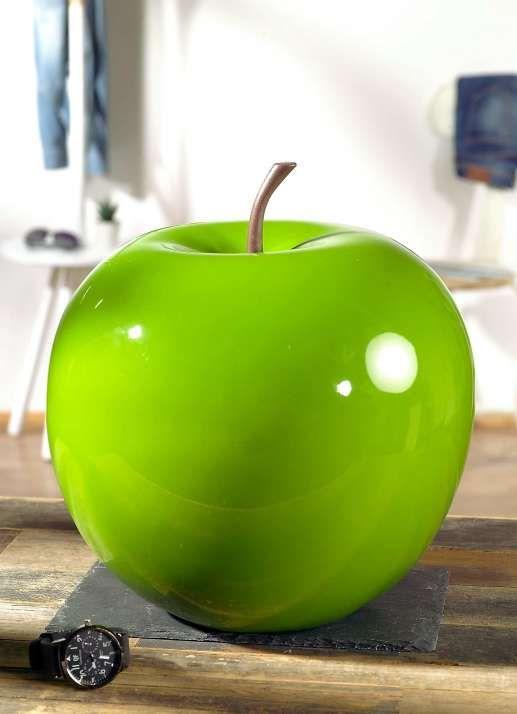 Deko-Apfel XL grün hochglänzend Apotheken-Deko Pinterest - Deko Gartenparty Grun