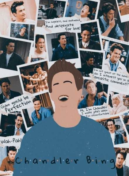 Funny friends moments chandler bing 31+ Ideas