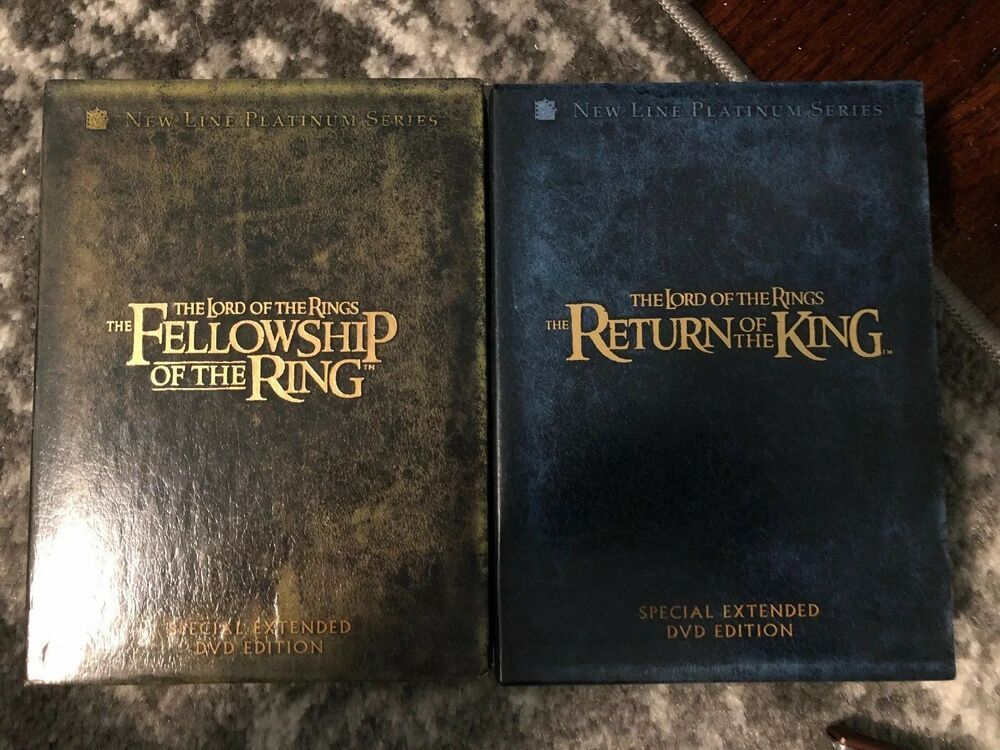 Lord Of The Rings Trilogy Dvd Set Special Extended Edition On 1 Lord Of The Rings Lordoftherings 12 50 0 Bids End Date Satur Lord Of The Rings Lord