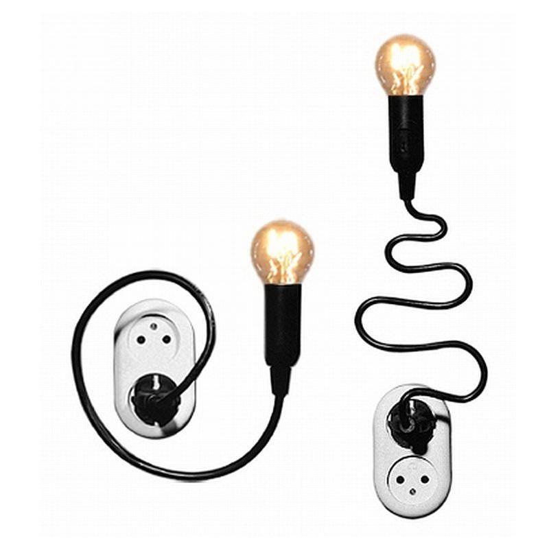 die steckdosen lampe watt von goods in unserem design shop. Black Bedroom Furniture Sets. Home Design Ideas