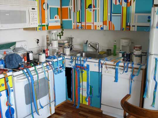 Diy Painting Kitchen Cabinets - cosbelle.com