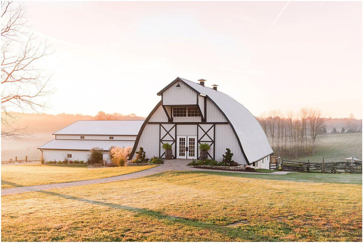 The Loft At Walnut Hill Wedding Barn Indiana Venue