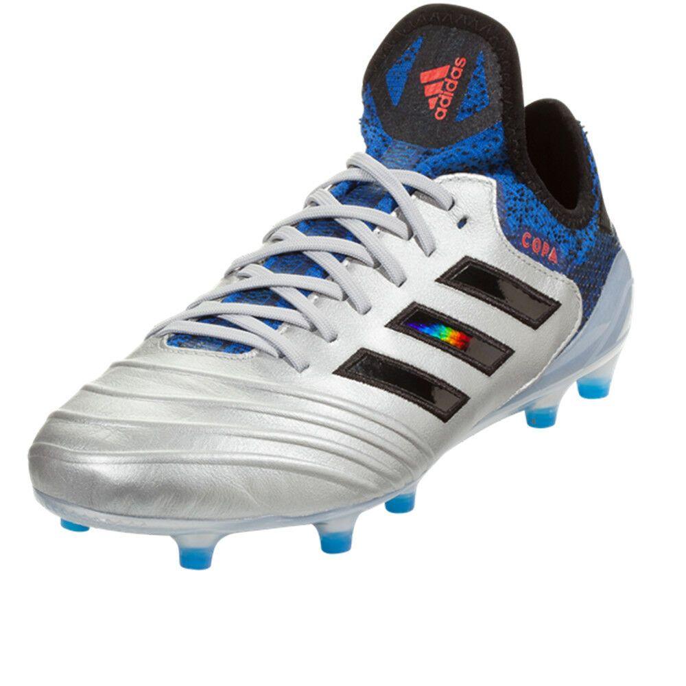 f3d549a9393 adidas Men s Copa Gloro 18.1 FG Off Silver Metallic Core Black DB2166