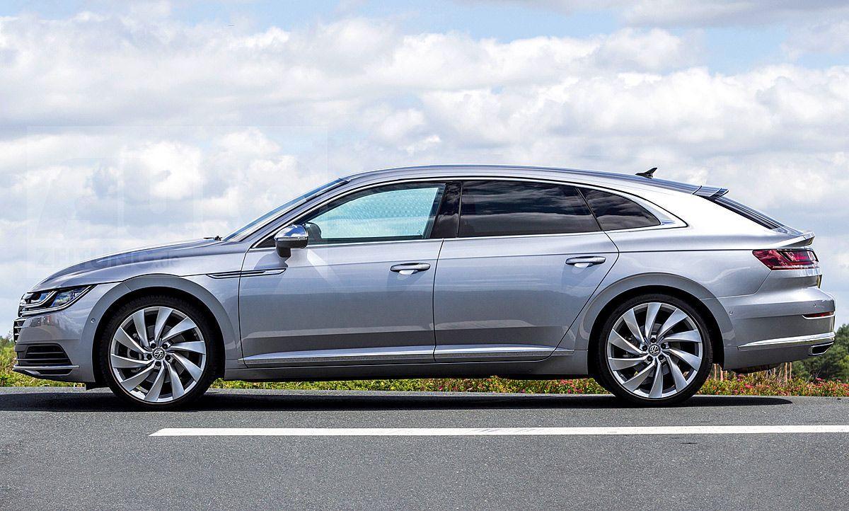 Volkswagen Arteon 2020 Performance And New Engine Volkswagen New Engine Shooting Brake
