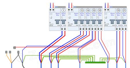 Tableau Electrique Circuits Electriques De La Cuisine En 2019 Installation Electrique Plan Electrique Et Schema Electrique