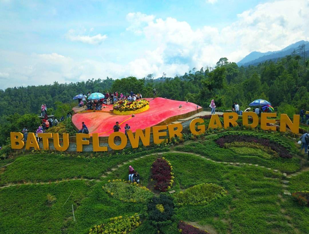 Harga Tiket Masuk Coban Rais Batu Malang Taman Hiburan Kebun Bunga Taman